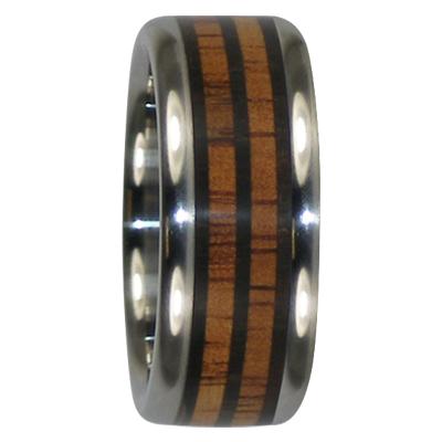 9 mm Triple Blackwood & KOA in Titanium Model #7015
