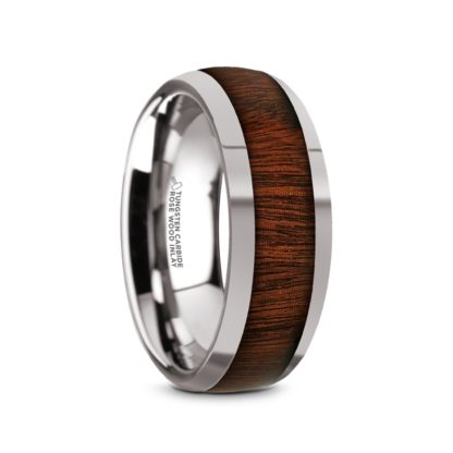 8 mm Rosewood Inlay Sloped Edges in Tungsten Model #5030