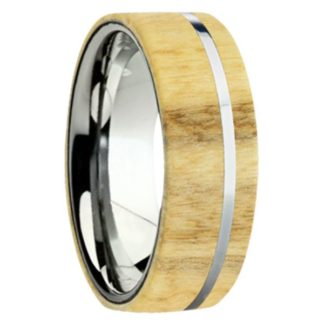 8 mm Aspen Wood Inlay with Titanium Stripe Model #3061