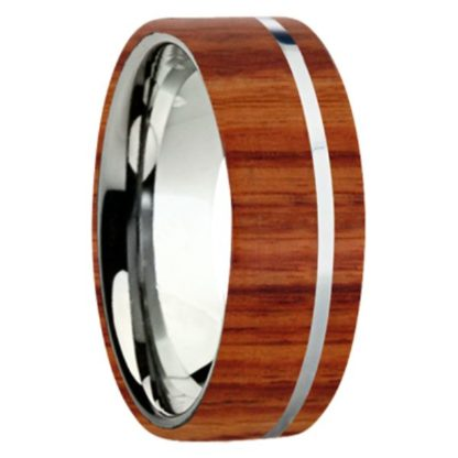 8 mm Tulipwood Inlay with Titanium Stripe Model #3060