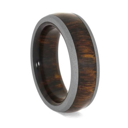 7 mm Rosewood & Sandblasted Titanium Model #3155
