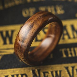 9 mm Bentwood Ring with Santos Rosewood Model #9301.3