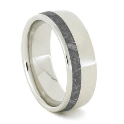 7 mm Platinum & Meteorite Inlay Model #3291.5